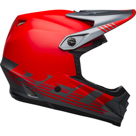 Bell Full-9 Fusion MIPS Fietshelm, louver matte gray/red
